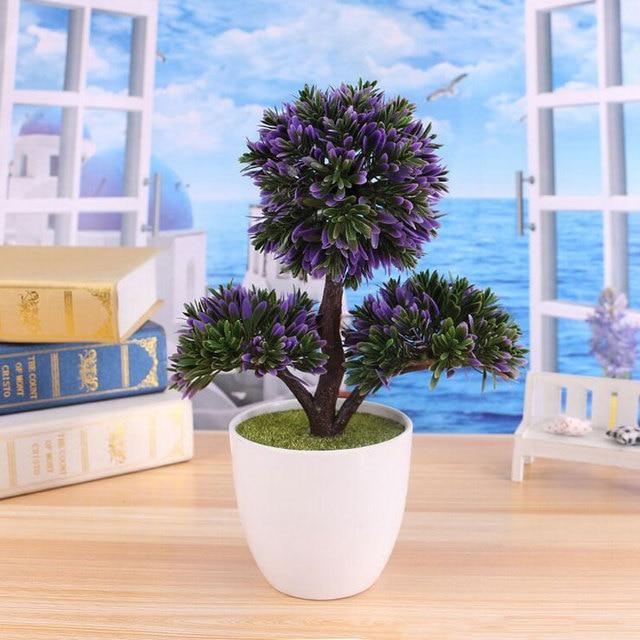 real new artificial bonsai tree for sale floral home decor simulation flores artificiais desktop display