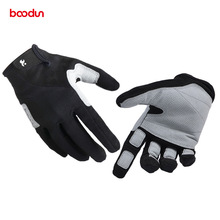 BOODUN Full Finger Hiking Gloves for Men and Women Breathable Wear-resistant Tactical Gloves Outdoor Sports Rock Climbing Glove boodun fighting ghost shell tactical gloves wear resistant non slip mechanical tactical gloves fitness gloves