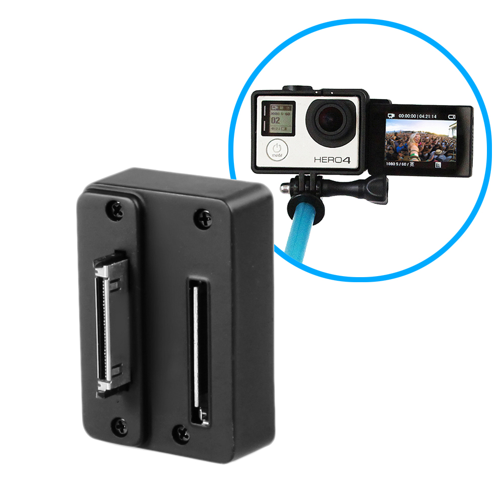 Flipping Converter for LCD Bacpac of GoPro3/3+/4 Live View Tool for Selfie