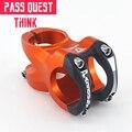 Pass Quest руль горного велосипеда сплав MTB руль стояк 31 8 Ручка Зажим диаметр-0 градусов 45 мм