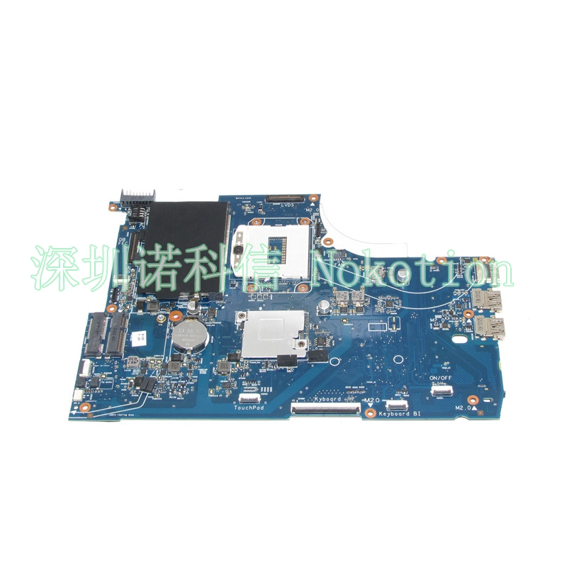 NOKOTION Laptop motherboard 720565-601 For Hp Envy 15 15-J 720565-001 Main Board UMA HM87 GMA HD DDR3 W8STD laptop motherboard for hp envy15 720565 501 w8std hm87 gma hd5000 ddr3 intel mother board 100