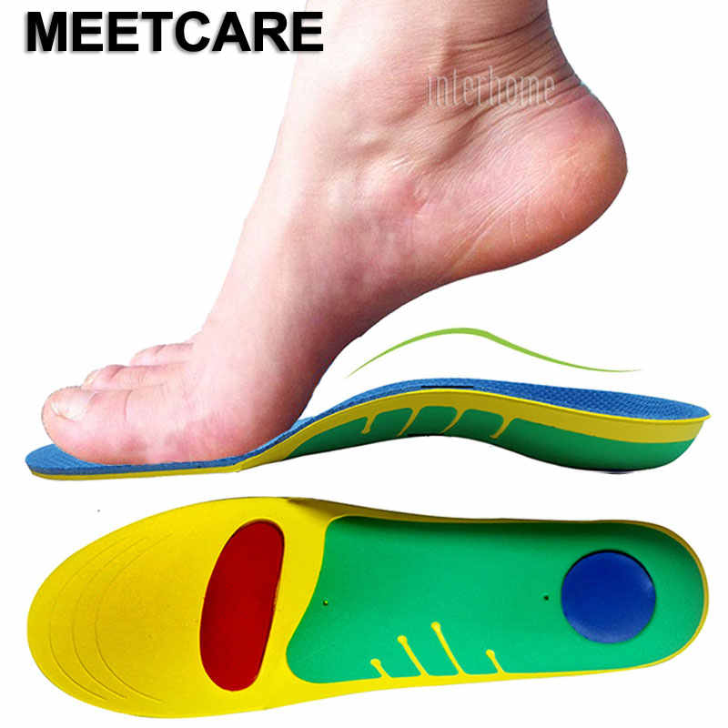 7e237f531a U Heel Orthopedic Insoles Flat Feet Arch Support Shoe Inserts for Foot Care  Bunion Corrector Plantar