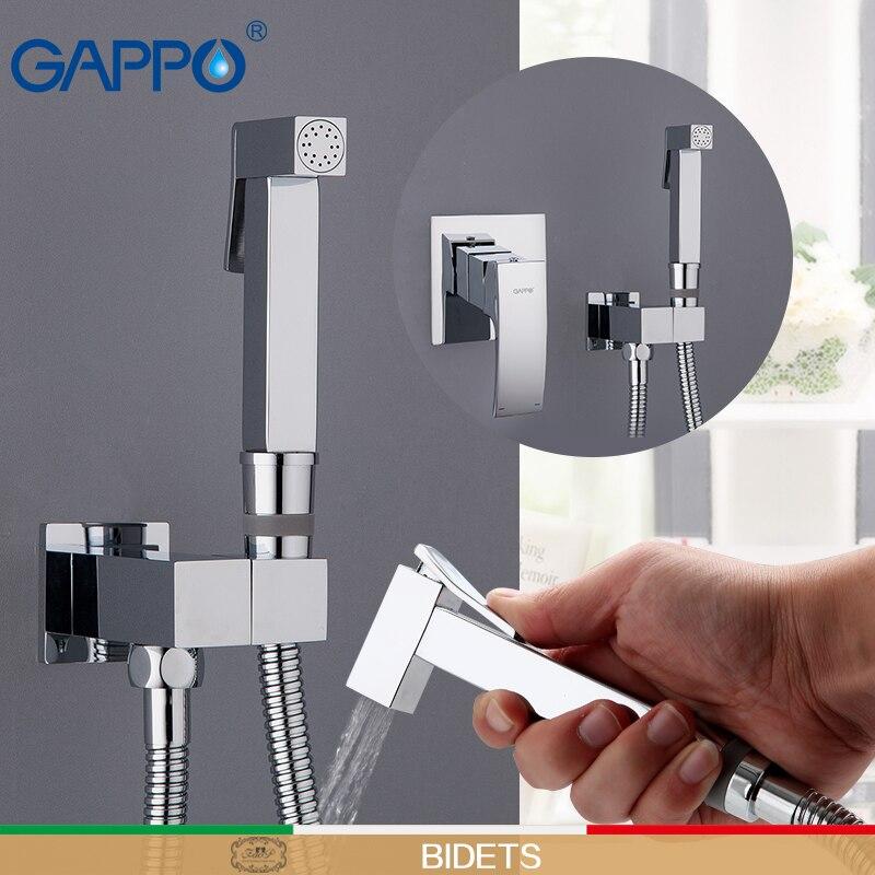 GAPPO robinet de douche salle de bains robinet de pluie mélangeur en laiton robinet de baignoire robinets de douche montage mural cascade robinet de bain