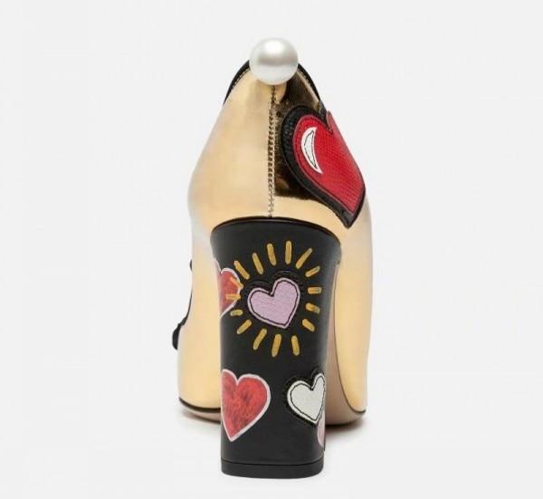 De Caliente Graffiti 2019 Pics Vaca Mujeres as Zapatos Mujer Alto Tacón Pista As Genuino Bombas Diseño Pics Cuero Las aErxOwr