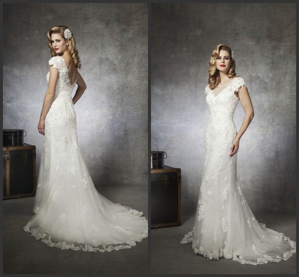 custom make 2013 cheap sexy mermaid wedding dresses v neck