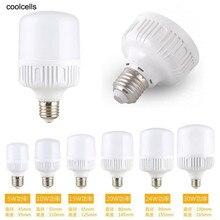 E27 энергосберегающий светодиодный лампа светильник 5/10/15/20 Вт, 30 Вт, 40 Вт, холодный белый свет, лидер продаж