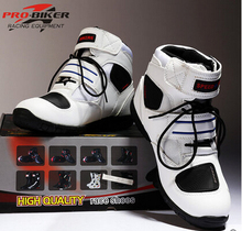 Free shipping 2015 New Pro biker shoes motor boots racing windproof boots motorcyle shoes ankle boots 3 color size 38-45