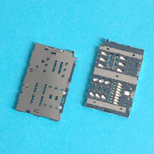 Para LG G5 G6 H850 H870 Bandeja SIM Card Slot Titular Conector do Soquete Plug Repair Parte(China)