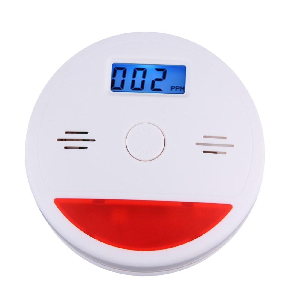 SmartYIBA Display LCD Inteligente Casa 85dB Concentração Detector De Monóxido De Carbono Sensor de Gás CO Sensor para Casa sistema de Alarme de Segurança Em Casa