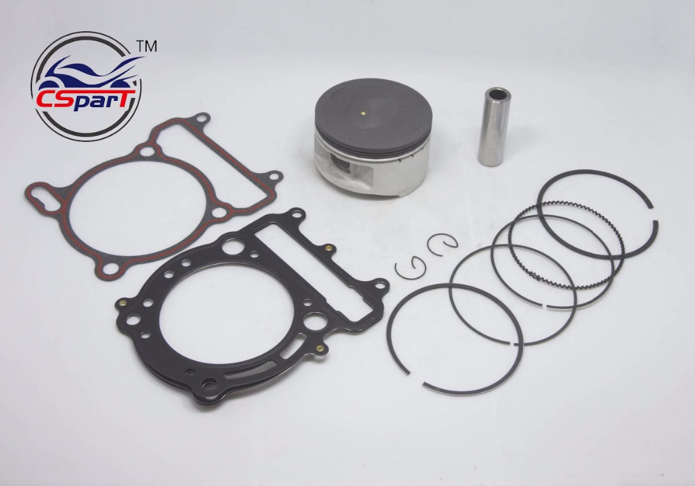 80MM 18MM Piston Ring Gasket Kit VOG LINHAI YP  400 400CC Tank Touring  ATV Buggy Scooter Parts-in ATV Parts & Accessories from Automobiles & Motorcycles    1