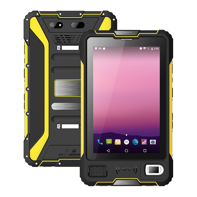 UNIWA V810 8 بوصة IPS 2in1 اللوحي LTE ثماني النواة أندرويد 7.0 وعرة اللوحي الهاتف المحمول 2G 16GB الهاتف المحمول IP67 مقاوم للماء NFC