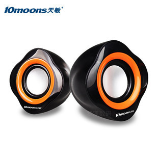 Tianmin rt106 desktop mini speaker multimedia notebook small audio mini portable subwoofer