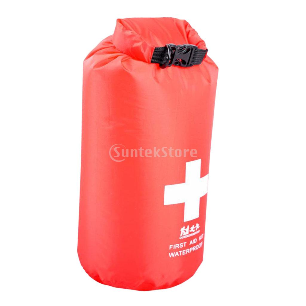 Waterproof 5L First Aid Emergency Kit Dry Bag Travel Camping Hiking Kayaking Storage Dry Sack waterproof 5l gray