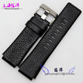 Men's leather strap watch 28 * 22mm Adapter Black