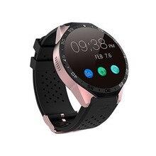 2016 Smartwatch 3G Kingwear KW88 400*400 Smart Uhr Aufruf 2.0MP Kamera Schrittzähler Herzfrequenz PK GT08