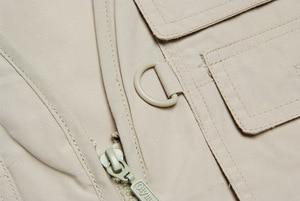 Image 3 - Мужской армейский Повседневный жилет Grandwish большого размера Olympina со множеством карманов, мужские Модные безрукавные безрукавки, реальный размер, DA757