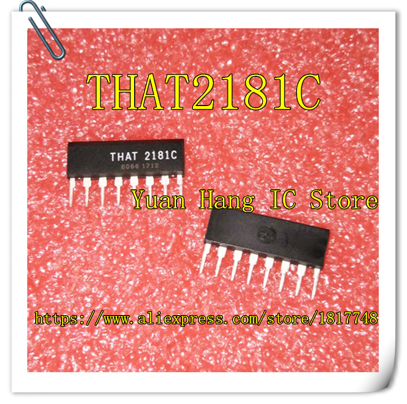 Free Shipping 10pcs/lot THAT2181C THAT2181 2181 SIP8 New&original Electronics IC