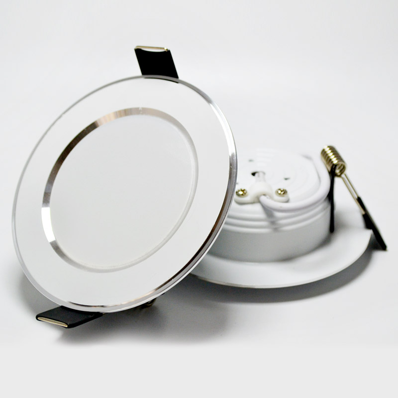 4 unids / lote LED downlight luces de alta calidad 3W / 5W / 7W / 9W - Iluminación interior - foto 6