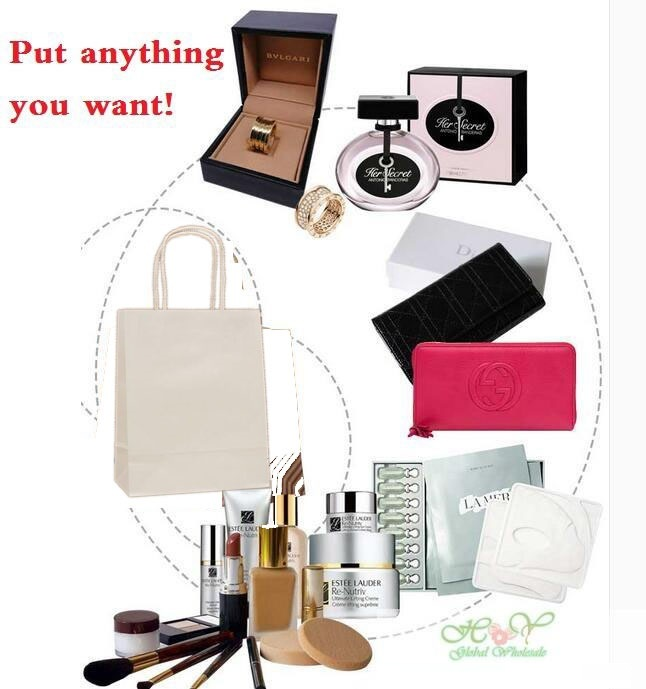wedding : 40PCS lot  Kraft paper bag with handles 21x15x8cm Festival gift bag for Gifts Jewelry Wedding Birthday Party High Quality