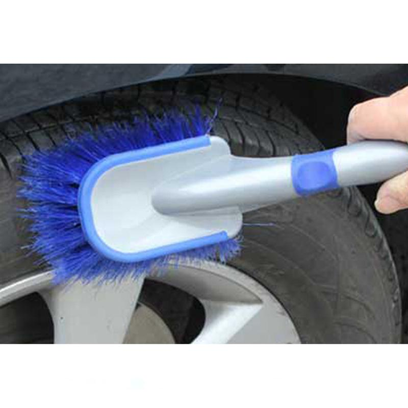 Car Wheel Tire Rim Cleaning Tool Brush 26cm Long Car Care