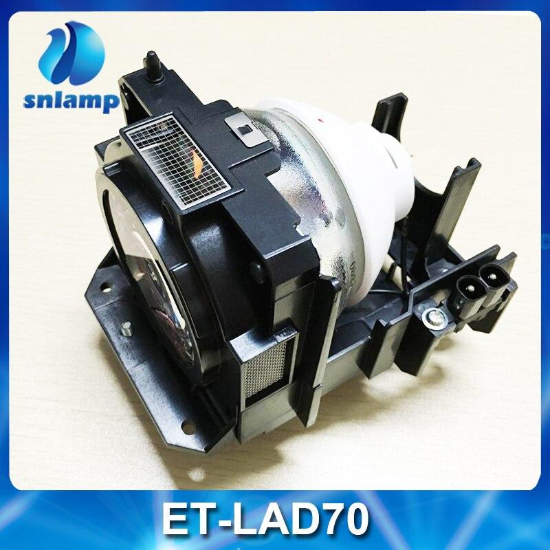 100% lampe de remplacement d'origine Panasonic ET-LAD70 pour les projecteurs de la série Lamp Pt-dz780