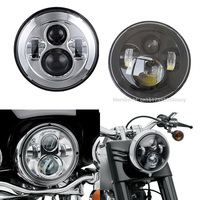 7 Motorcycle Projector LED Headlight 40W High And Low Beam For Harley Davidson Electra Glide