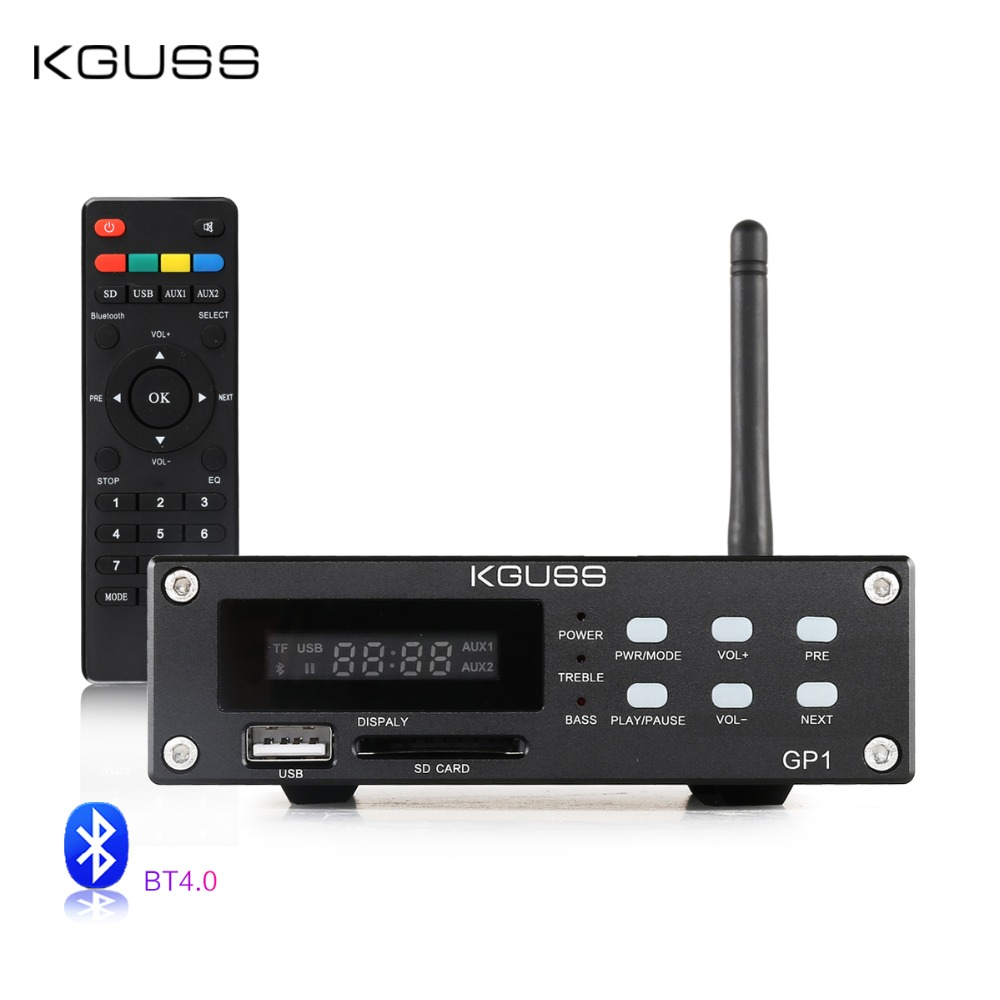 KGUSS GP-1 <font><b>2.1</b></font> audio HIFI <font><b>Bluetooth</b></font> Digital Amplifier image