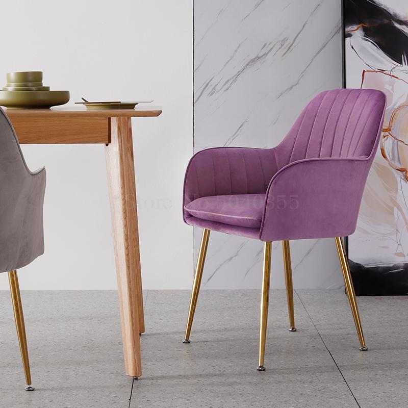 Современный дизайн, мягкий обеденный стул, модный прозрачный стул для гостиной, отдыха, мебель, стул-Лофт
