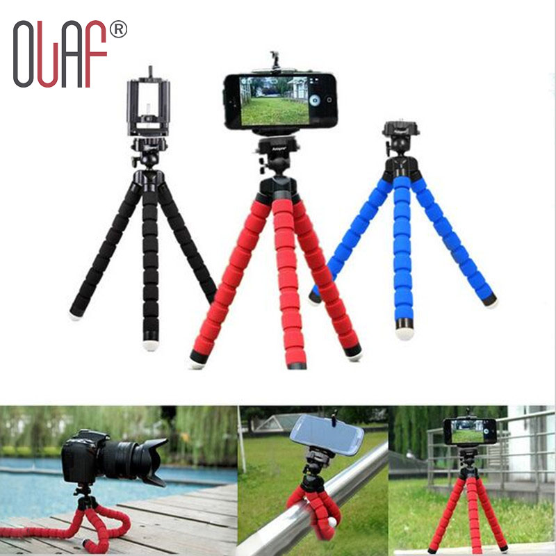 Olaf Octopus-styling mini phone Tripod Bracket Selfie Stand Mount With Holder Monopod Phone Holder For Digital Camera and phone