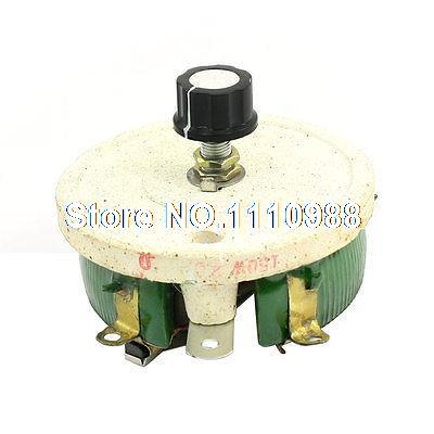 Top Rotary Single Turn Resistor 150W 20 Ohm Ceramic Pot Disk Rheostat variable resistor wire wound rheostat 50w 20 ohm 20ohm