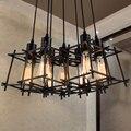 Vintage Hängependelleuchten Leuchte Schwarz Startseite Innenbeleuchtung American Industrial Retro Droplight Hängelampen Leuchte-in Pendelleuchten aus Licht & Beleuchtung bei