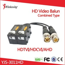 New product 2016 CVI TVI AHD HD CCTV Video Balun Combined Design Randomly UTP YJS-3011HD
