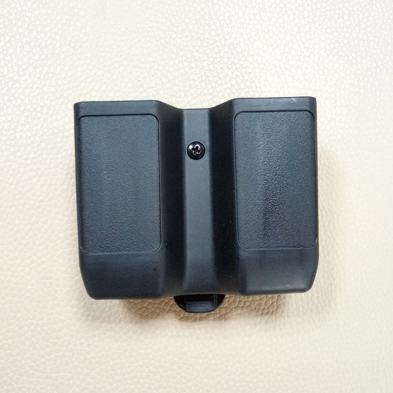 Double Stack Magazine Pouch Case Universal Pistol Mag Box for Colt 1911, Beretta m92 m9, Sig P226, HK USP, Glock 17 19