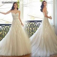 SIJANEWEDDING SIJANE Mermaid Wedding Dresses Sweep Train