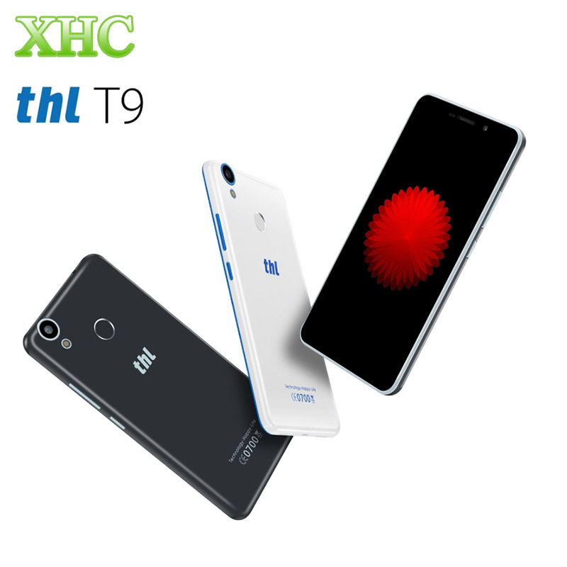 THL T9 Pro 16G 4G Mobile Phone Fingerprint 5.5'' Android 6.0 MT6737 Quad Core 1.3GHZ RAM 2G 3000mAh Battery Dual SIM Cell Phone