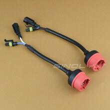 Sinolyn 2 шт. D2S D2R D2C Ксеноновые лампы гнездо адаптера Провода кабель разъем прямой разъем преобразовать в послепродажного балласта