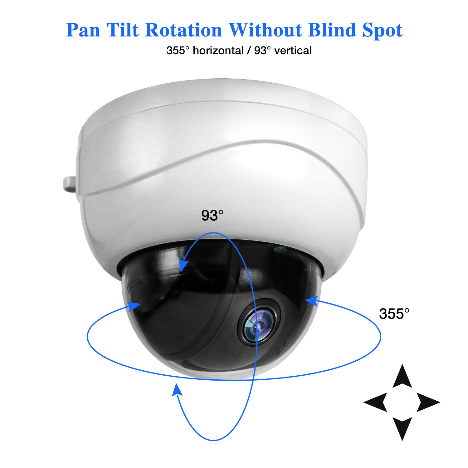 HD 1080P Mini PTZ Dome IP Camera 3X Zoom 2MP Full HD Network PTZ Camera full hd onvif network 1080p 2mp 10x mini ptz camera ip 1080p 10x zoom ptz ip camera speed dome with mobile phone access