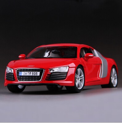 ФОТО 2015 New R8 GT Maisto 1:18 Supercar Iron Man Tony car Simulation alloy car model Red Fast & Furious  Birthday gift