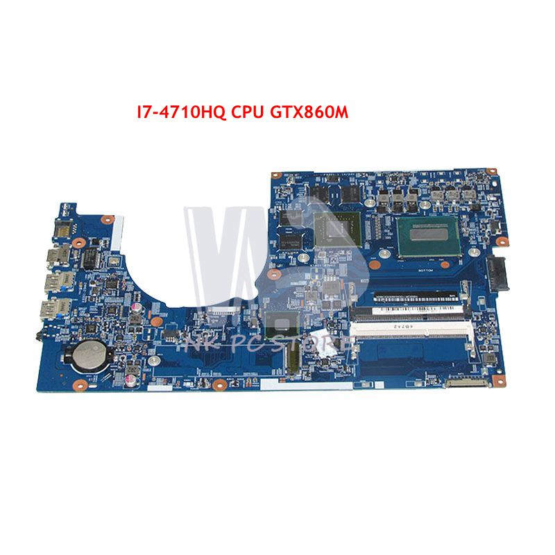 NOKOTION Mère D'ordinateur Portable Pour Acer aspire VN7-791 VN7-791G Carte Principale 448.02G08.001M NBMQR11004 I7-4710HQ CPU GTX860M GPU