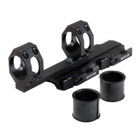 Funpowerland Kaya-Katı 25.4mm/30mm Picatinny Weaver Yüzük Taktik Quick Release Kapsam Dağı Ile QD Oto kilit Kolu Sistemi