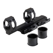 Funpowerland Rock-Solid 25.4mm /30mm Picatinny Weaver Ring Tactical Quick Release Scope Mount With QD Auto Lock Lever System