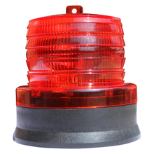 LED Solar Warning Light Traffic And Road Safety Warning Lights Car Burst Flash Indicator Light Marine Safety Beacon For Garden led traffic warning light aluminum alloy flashlight outdoor lighting traffic control lights without battery road safety