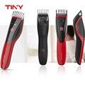 PEQUENOS Homens Lâmina de Cerâmica Máquina de Cortar Cabelo Profissional Elétrica Recarregável Trimmer Navalha Cortador Ferramentas de barbeiro cabelo máquina de corte
