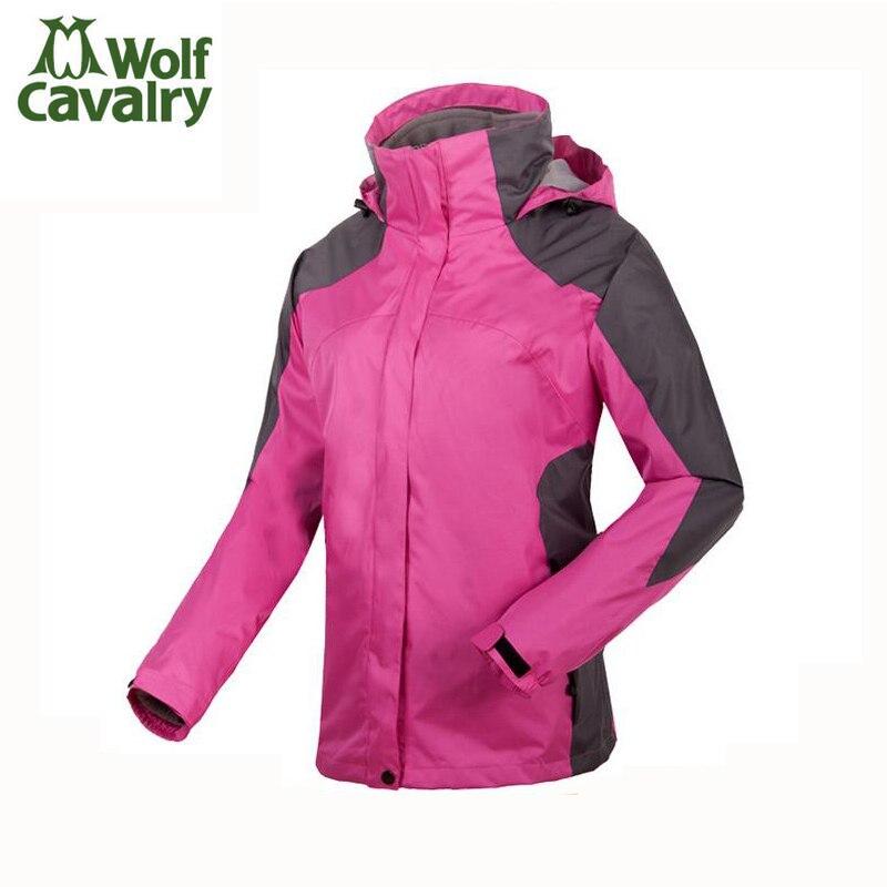 ФОТО Female jacket Outdoor sport climbing warm waterproof windproof ski suits winter jacket women tracksuit