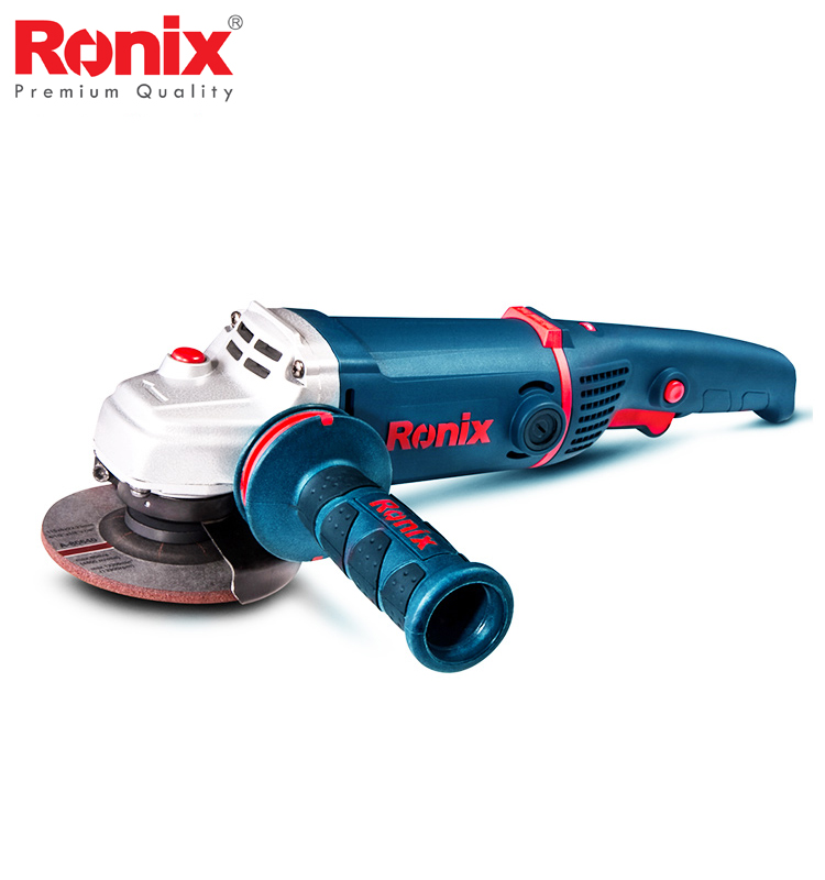 Ronix New Angle Grinder 115mm 1400W 9000RPM Mini Angle Grinder High Power With Good Quality Machine Speed Control Model 3160|Grinders| |  - title=