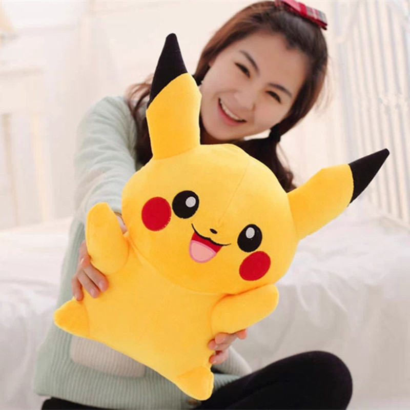 25cm Small Kawaii Pikachu Cartoon Plush Toy Stuffed Animals Dolls Soft Toys Peluche Oyuncak Bebek Toys For Children Cojines 22cm pikachu plush toys high quality cute plush toys children s gift toy kids cartoon peluche pikachu plush doll christmas gifts