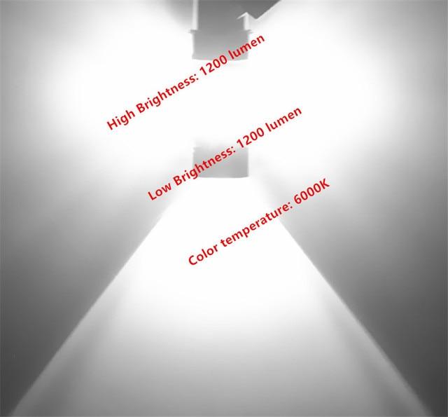 9006 hb4 lâmpadas led luzes de nevoeiro condução da lâmpada dia runnight luzes carro fonte de luz estacionamento 1250lm 12 v-24 v 6000 k branco do automóvel