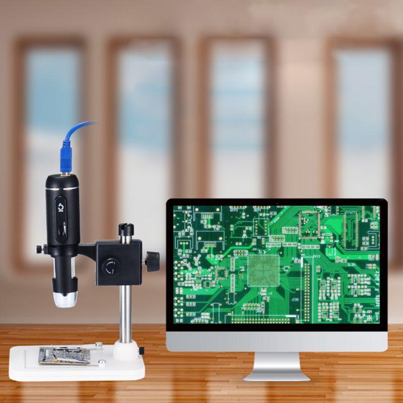 1000X USB3.0 Digital Microscope 5MP HD Camera Electronic Magnifier with Holder1000X USB3.0 Digital Microscope 5MP HD Camera Electronic Magnifier with Holder