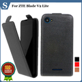 Factory price , Top quality new style flip PU leather case open up and down for ZTE Blade V2 Lite, gift