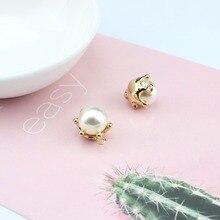 2 pcs diy alloy  bracelet necklace pendant earrings for women metal trend fashion jewelry accessories